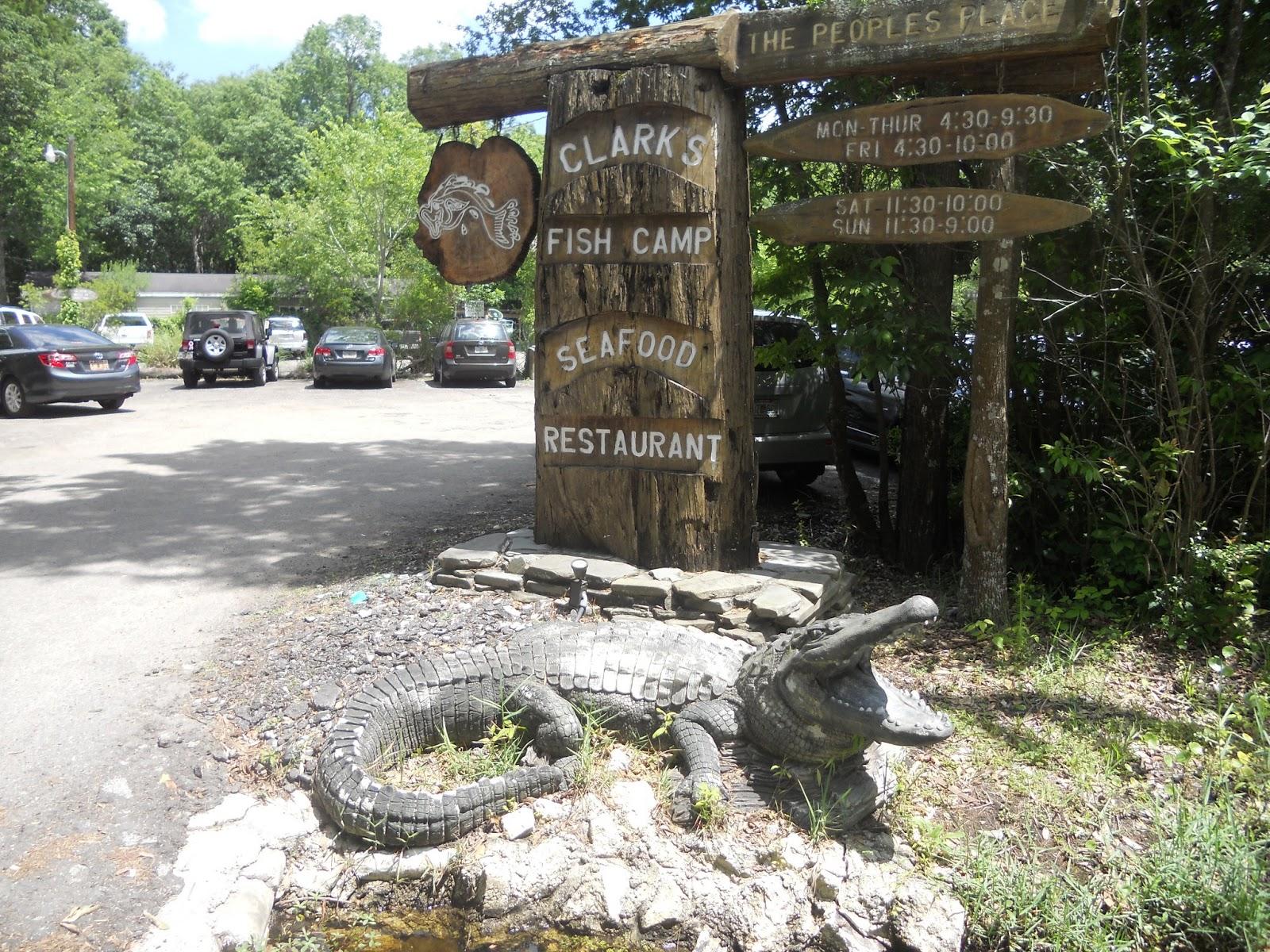 Clark 39 s fish camp jacksonville fl mcentegart 39 s rv escapades for Fish camp jacksonville