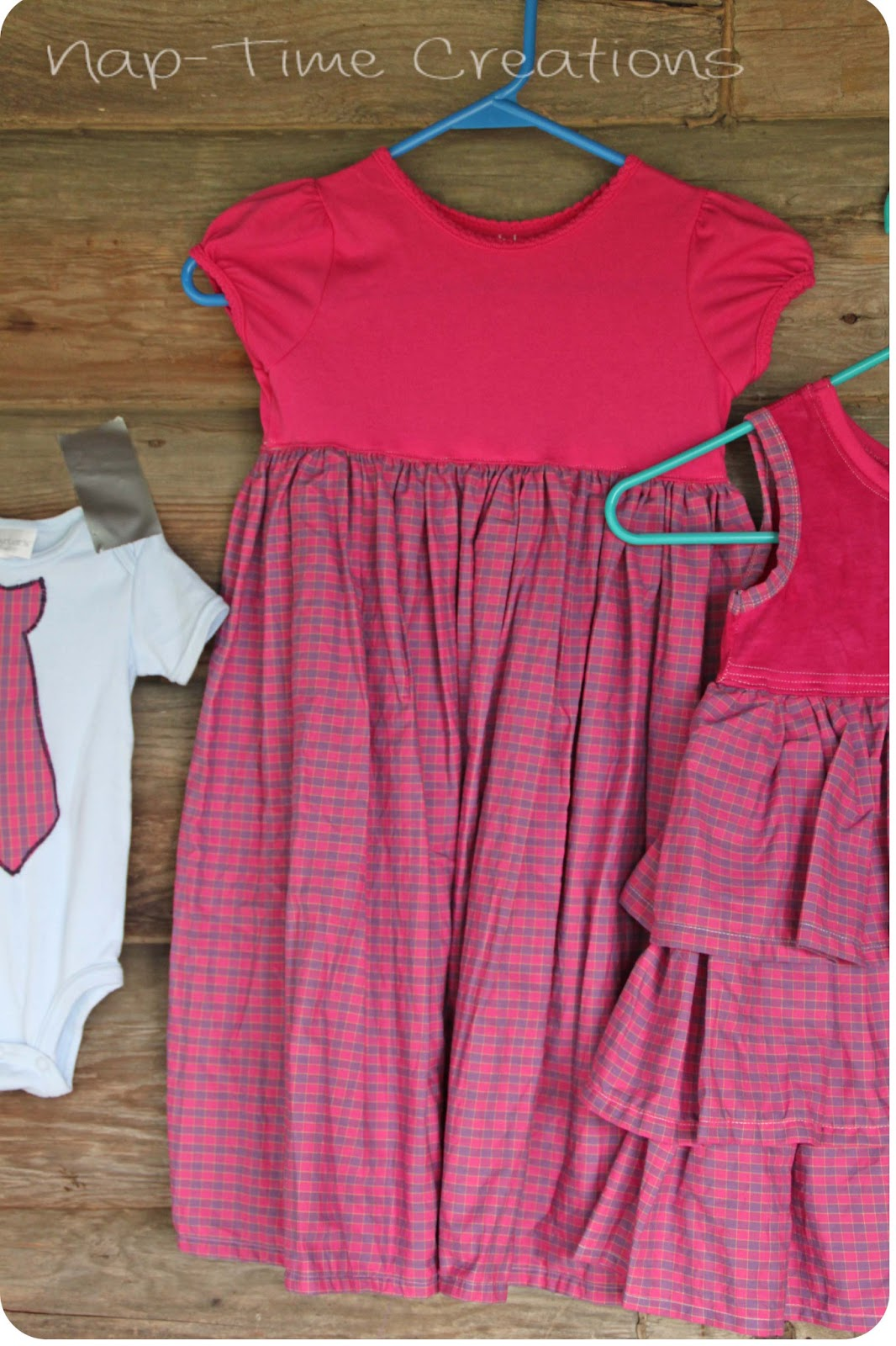 How to sew a shirt dress sibling outfits sewing for kids for Make a dress shirt