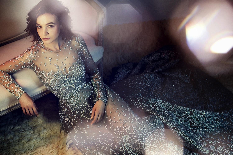 Carey Mulligan (mais uma vez) para Harper's Bazaar