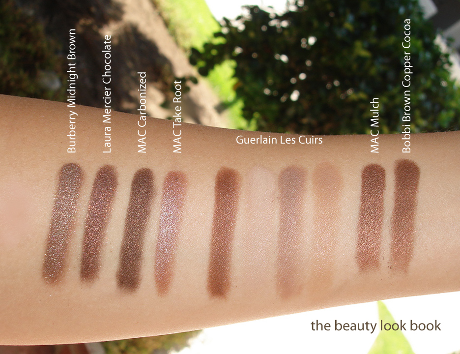 Color Focus: Shimmery Brown Eyeshadows for Fall | The Beauty Look Book