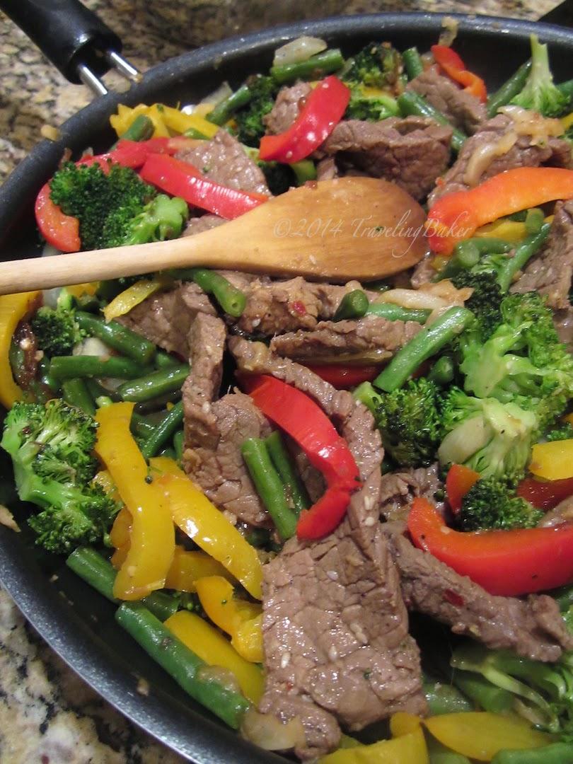 stir-fry di tagliata e verdure