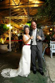 Luciana Tegoshi e Daniel