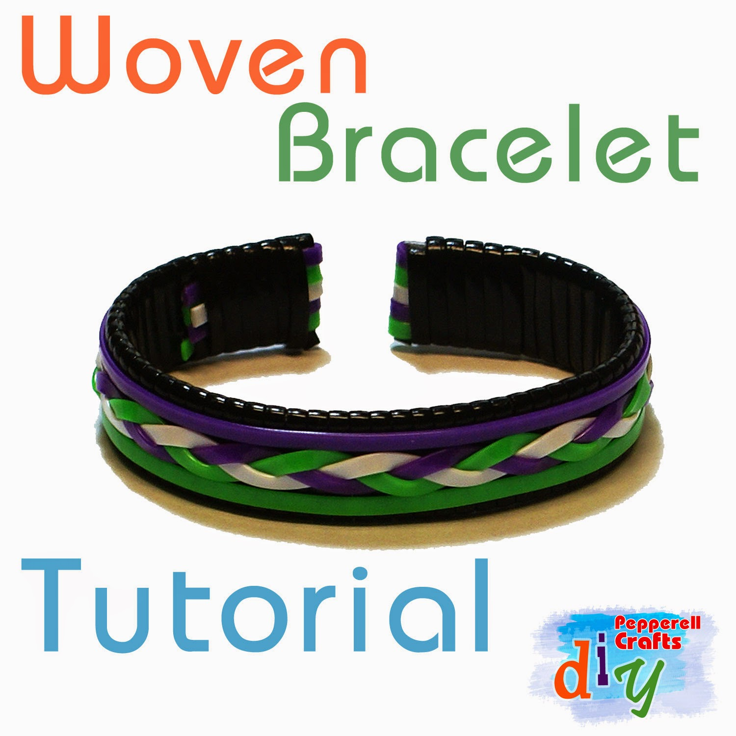 Woven Bracelet Tutorial - Pepperell Braiding Company