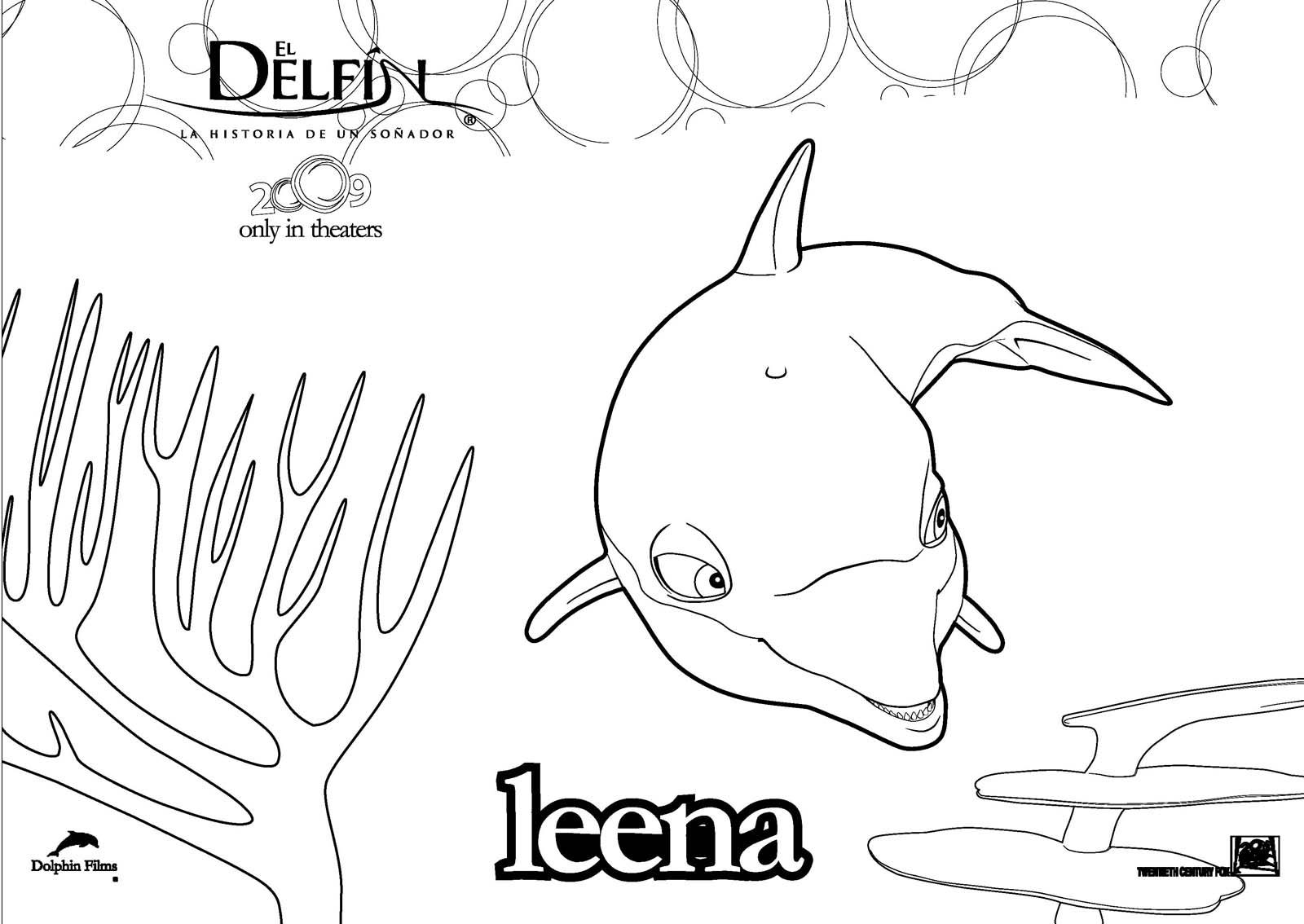 Bonito Para Colorear Delfín Elaboración - Dibujos Para Colorear En ...