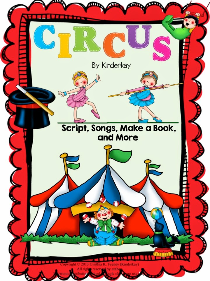 https://www.teacherspayteachers.com/Product/Lets-Put-on-a-Circus-Script-and-Make-a-Book-Pack-535519