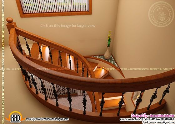 Stairway design U shape