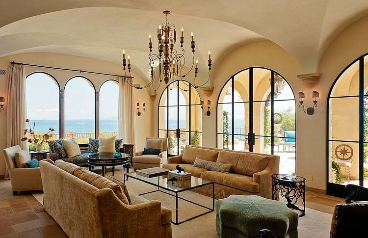 Luxury Home Interior Design Ideas with Mediterranean Style