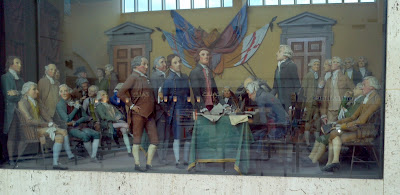 SIgning of Declaration of Independence, Neshaminy Mall