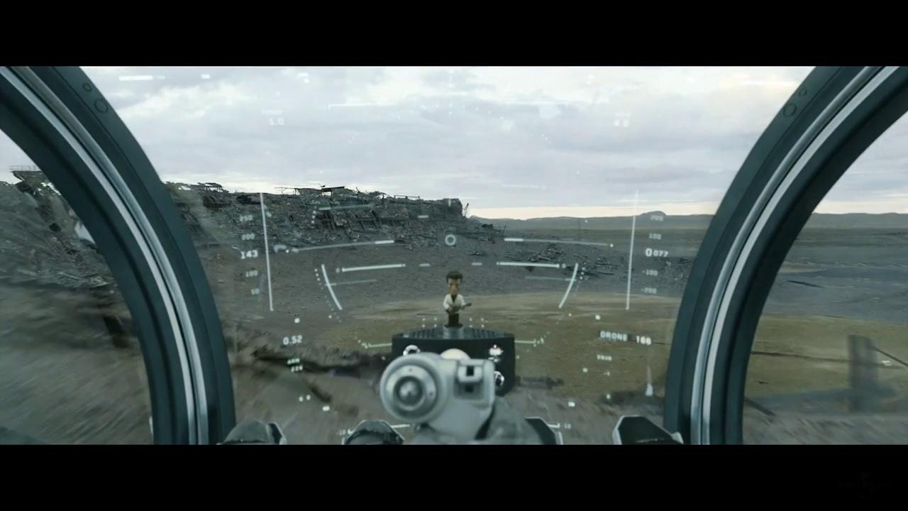 HUD de nave en Oblivion