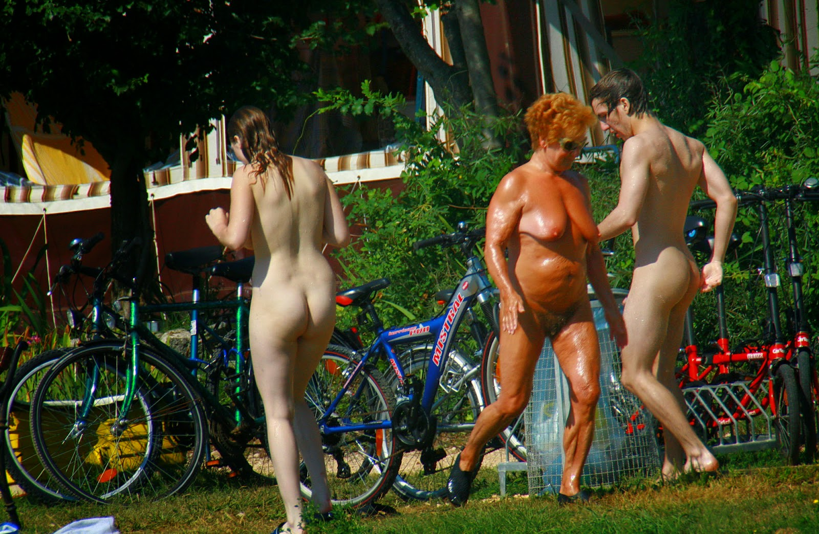 Have thought Croatia nudist family apologise, but