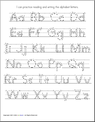 Worksheets Printable Alphabet Worksheets A-z handwriting worksheets a to z delibertad alphabet delibertad
