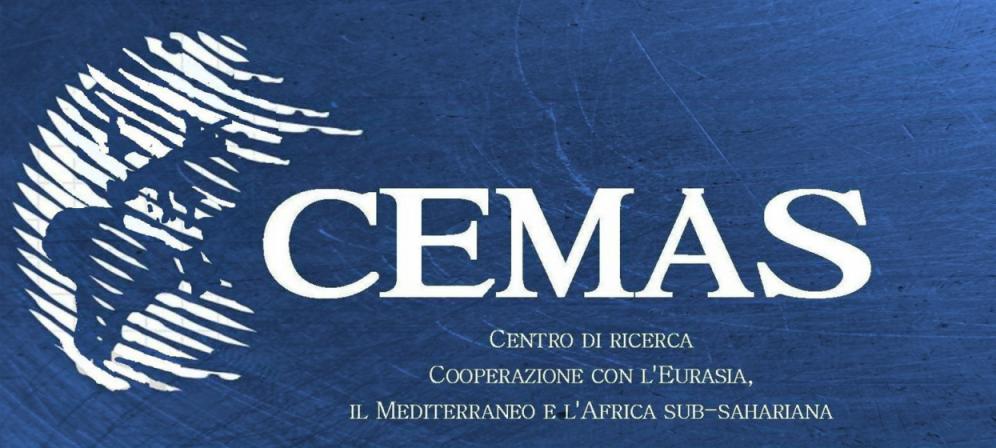 """CEMAS - Centro di ricerca """"Cooperazione con l'Eurasia, il  Mediterraneo e l'Africa"""""""