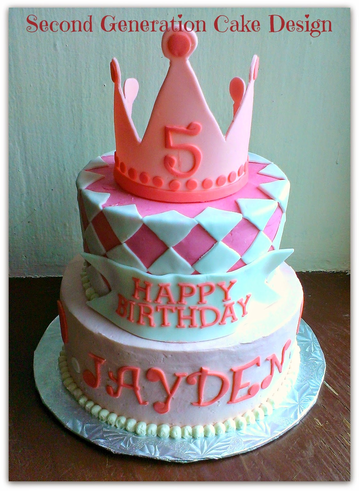 Cake Designs With Crown : Second Generation Cake Design NetworkedBlogs by Ninua
