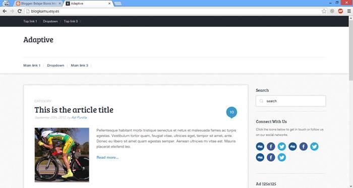 Hasil Akhir Cara Membuat Website