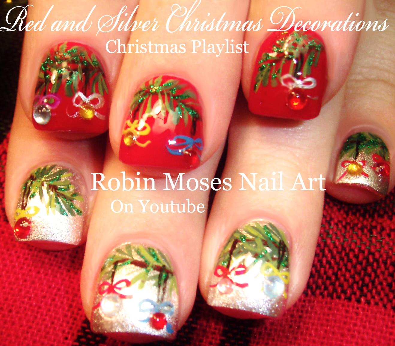 "Robin Moses Nail Art February 2015: Robin Moses Nail Art: Christmas Mouse! ""christmas Design"
