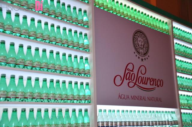 Água São Lourenço, um dos patrocinadores