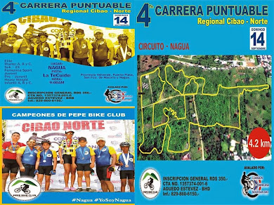 4 TA. CARRERA PUNTUABLE REGIONAL CIBAO-NORTE