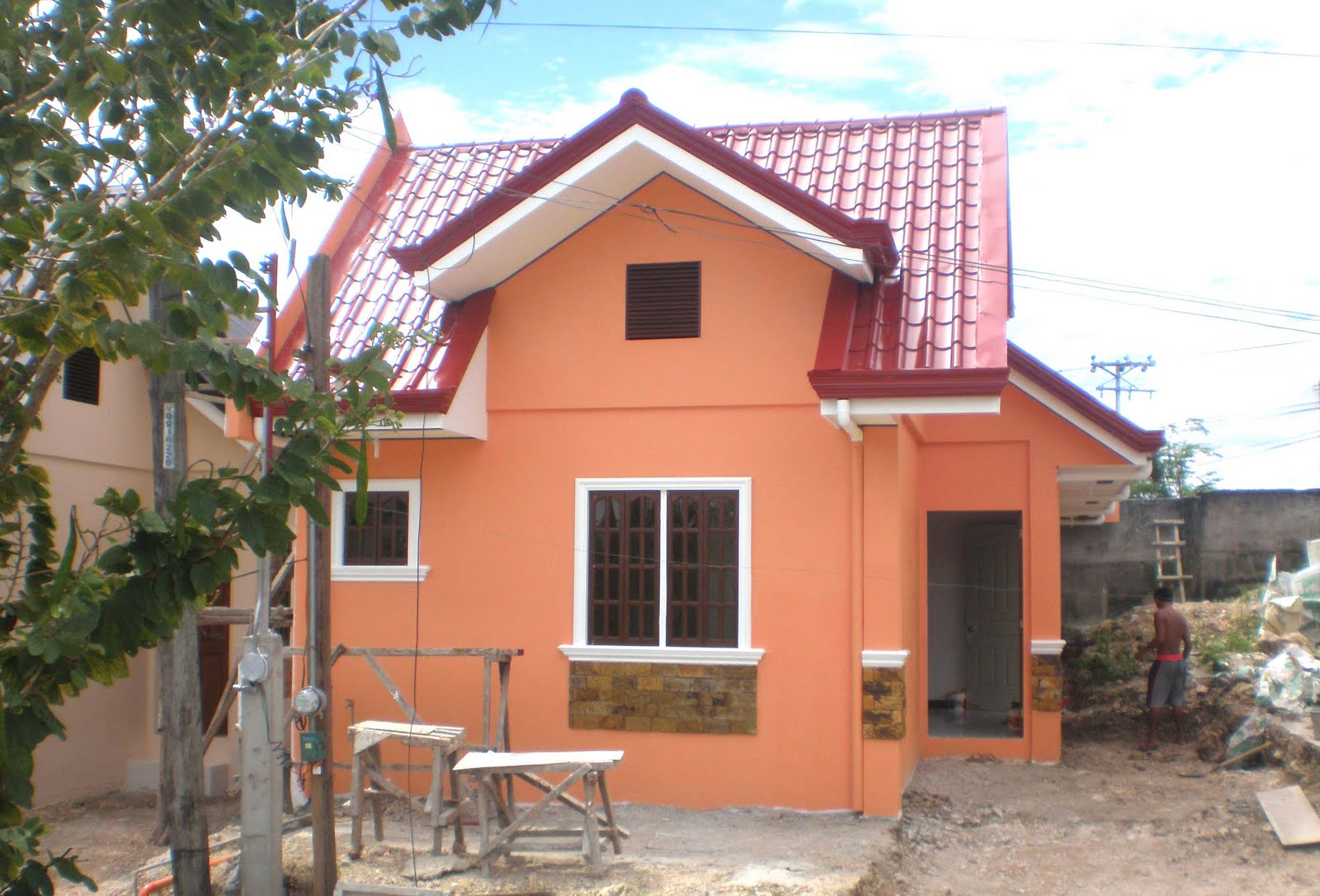 Nicebalay ready for occupancy single attached house and for Extremely cheap houses