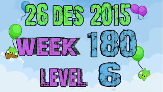 Angry Birds Friends Tournament level 6 Week 180