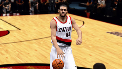 NBA 2K13 Nicolas Batum Cyberface 2K Patch