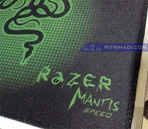 (sayajual) Promosi Replika Razer Mantis Speed Mousepad