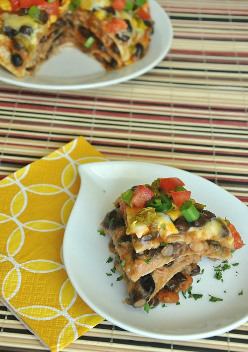 mexican pizza lasagna
