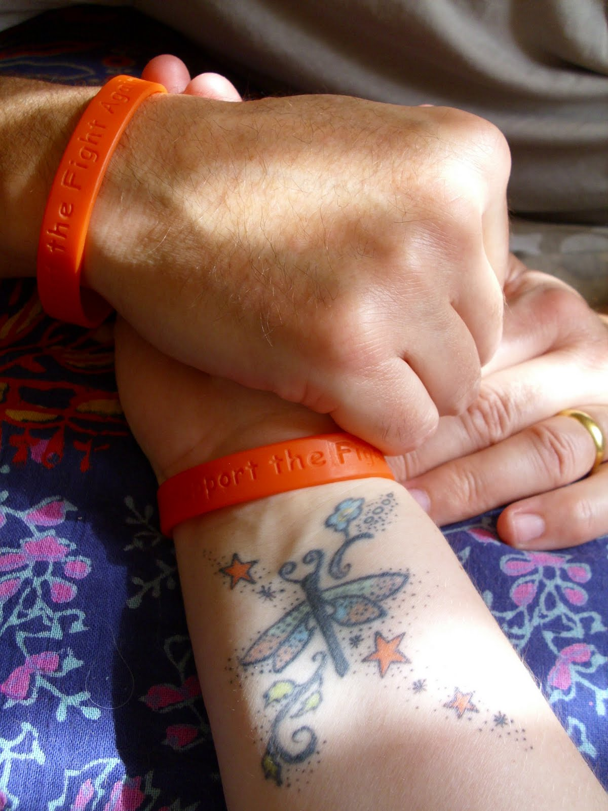 My brother andrew motor neurone disease awareness bands for Motor neurone disease support