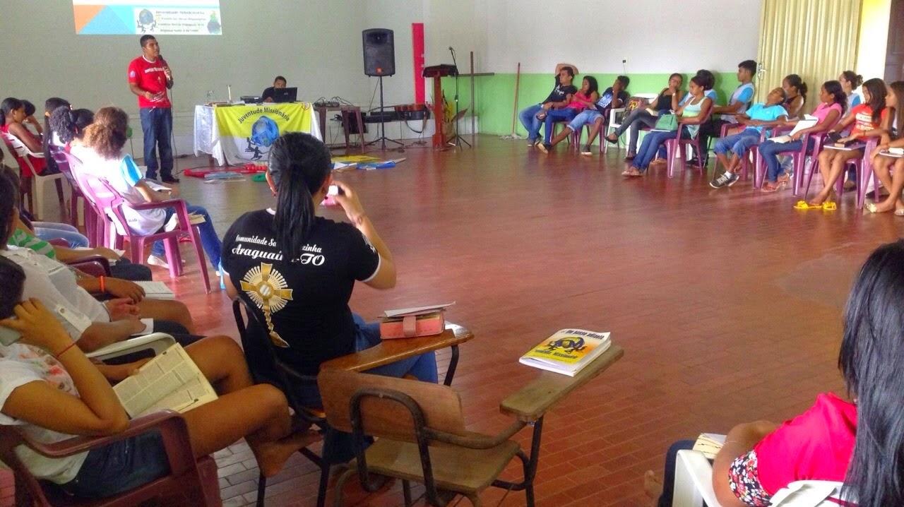 Formação e animação missionária em Araguatins (TO)