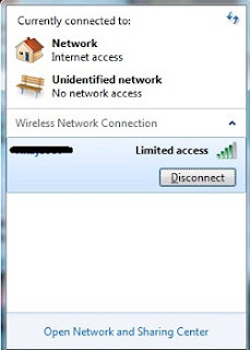 Cara Mengatasi Limited Access Wifi di Windows 7