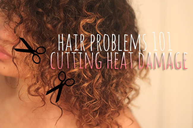 how to help damaged hair from heat