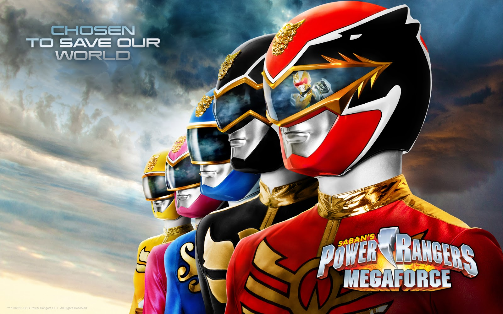 Power Rangers Megaforc…