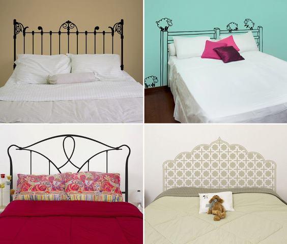 mil ideas para la casa y el jardin cabeceras de camas