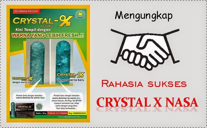 Mengungkap rahasia sukses Crystal X Nasa