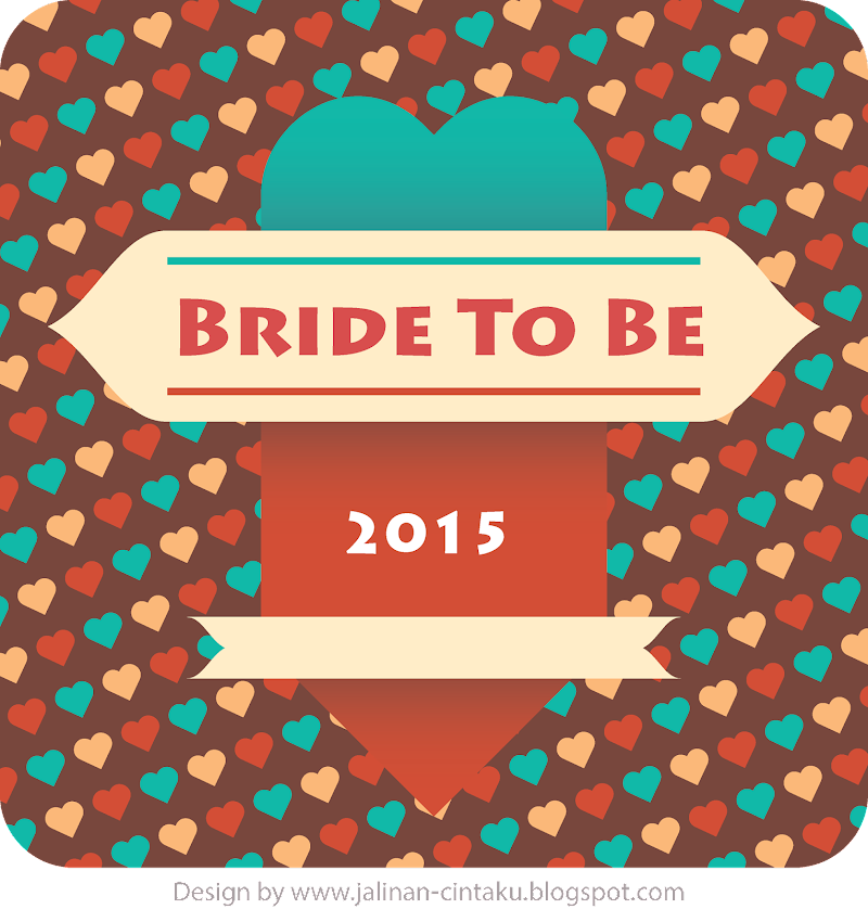 BRIDE TO BE 2015's BADGES