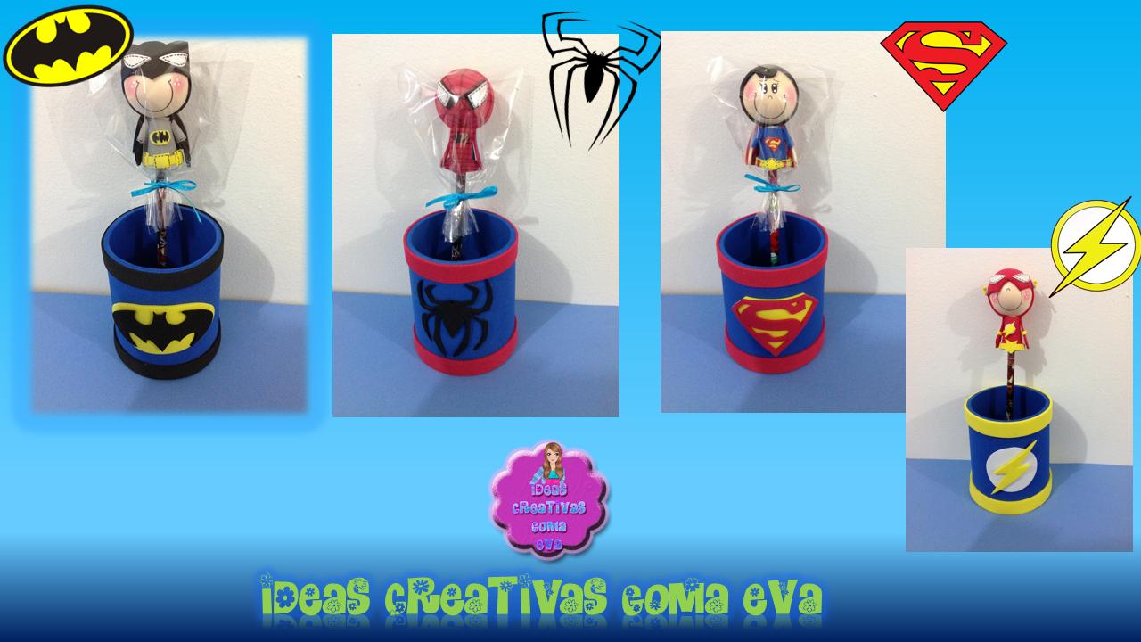 Diany's Ideas Creativas : Super Heroes Sorpresas y Cotillones