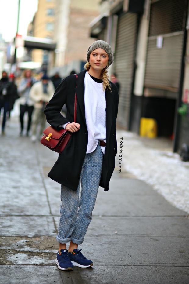 Martha Hunt, New York, February 2014