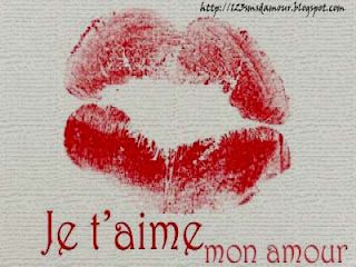 Message d'amour romantique je t'aime mon chéri