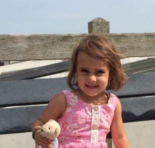 onze mooie tweede kleindochter Isa (zusje van Dani)