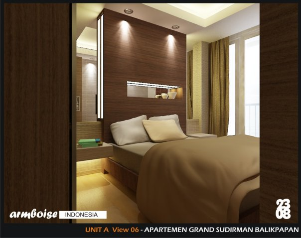 Design Interior Apartemen Type Studio