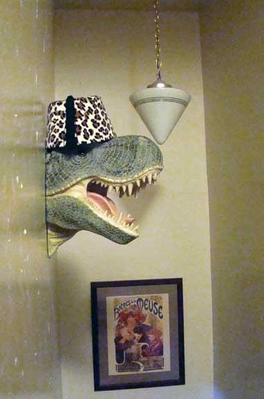 tyrannosaurus_rex t-rex fez