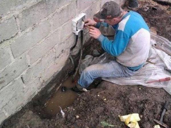 electricista en agua