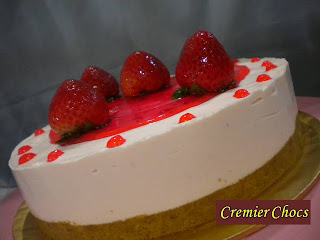 Strawberry Cheese Cake (Chilled)
