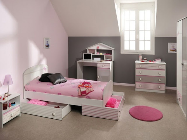 small girls bedroom ideas - 5 small interior ideas