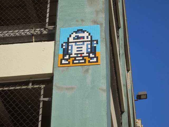 Invader Invades New York City - 2013 Edition - Collaboration With COST and ENX plus solo pieces. 7