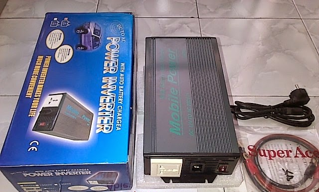 Inverter 500 WATT Plus Charger Mobile Power