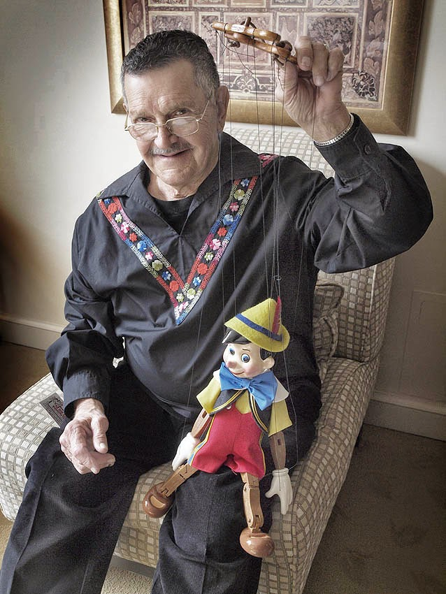 Bob Baker and Pinocchio
