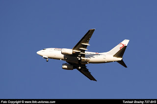 AVIÓN BOEING 737 NEXT GEN TS-IOQ