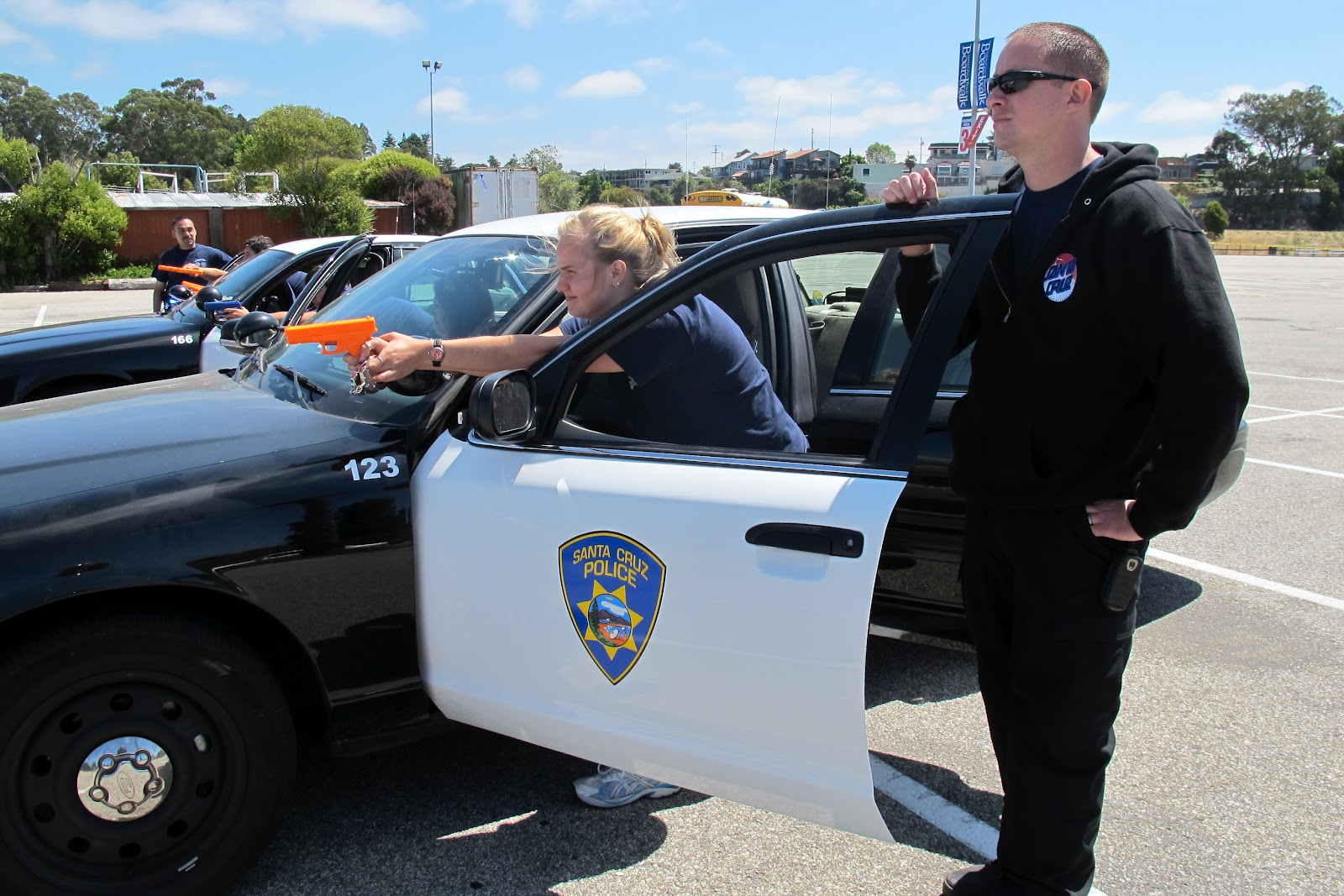 Santa Cruz Police Photos From Last Day Of Teen Public