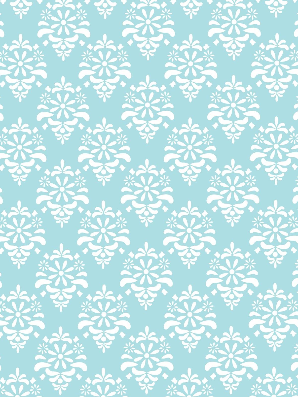 julesoca blog: Damask Wallpaper....Light Blue, Gray, Pink ...