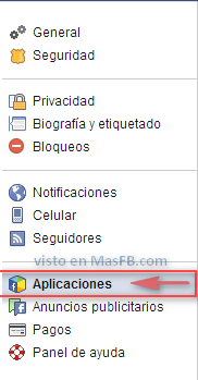 Aplicaciones Facebook - MasFB
